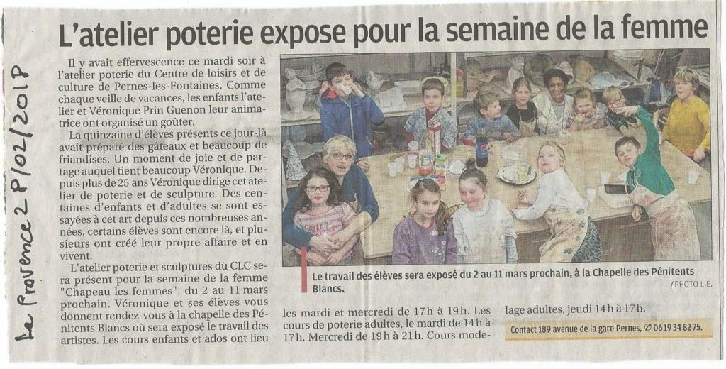 Presse – CLC Pernes-les-Fontaines