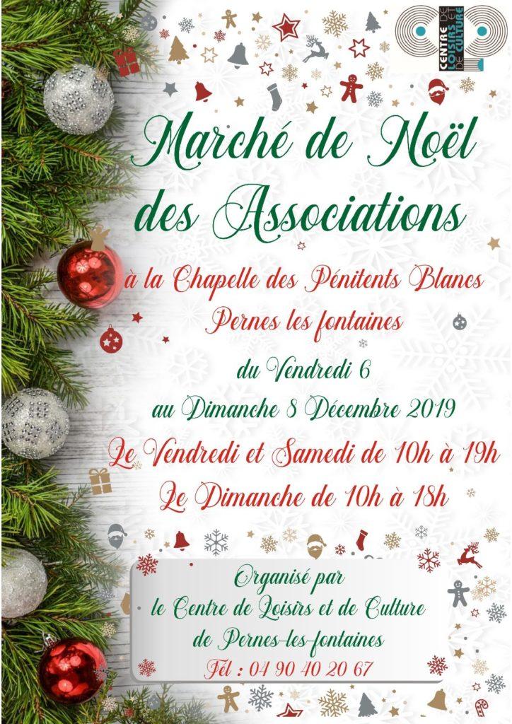 Marché de Noël des associations CLC