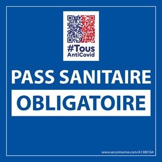 Aux adhérents Pass sanitaire obligatoire pour toutes les activités du CLC